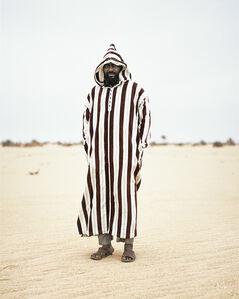 Local Tebu Resident, Al Gatrun, Southern Libya