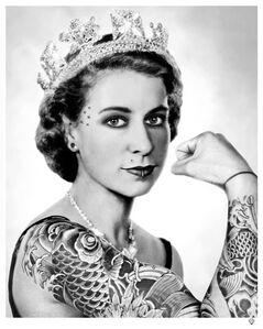Queen (black & white)