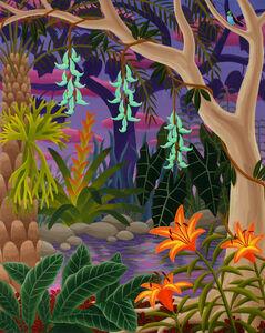 Jungle with Jade Vine