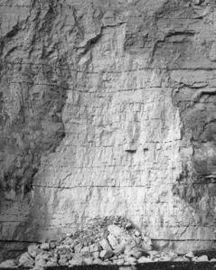 The Erratics - Chalkfall in white