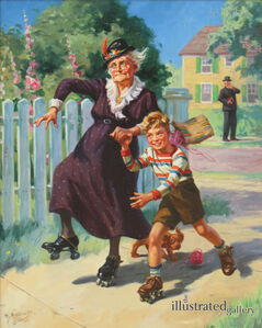 Skating with Granny