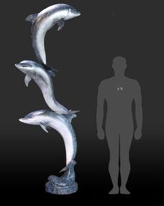 Trio of Bottlenose Dolphin