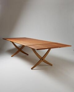 "Dining table ""Sabre leg"""