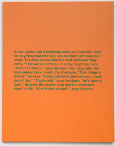 Untitled (Man walks into a hardware store),