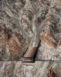 Railcuts #13, C.N. Track, Thompson River, British Columbia