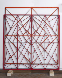 Orange and Red Double Structure