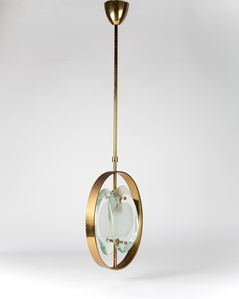 Ceiling Light by Max Ingrand for Fontana Arte