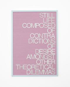 Untitled / Theoretical Dilemmas