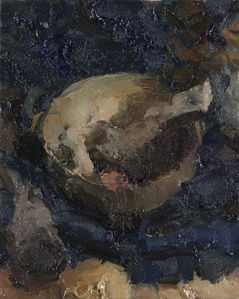 Still Life with Bowl and Bone IV
