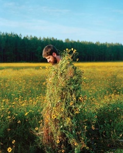 Eric in a Ghillie Suit (Flowers)