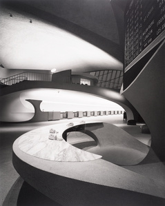 Eero Saarinen, TWA Terminal, New York International (now John F. Kennedy International) Airport, New York