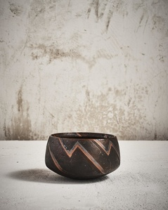 Abstract Decorated Bowl
