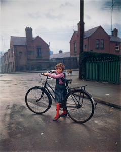 Girl with Bicycle, Dublin