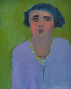 Woman with Lavender Dress