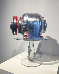 Fake Electric motor with Fake Silver, 2016