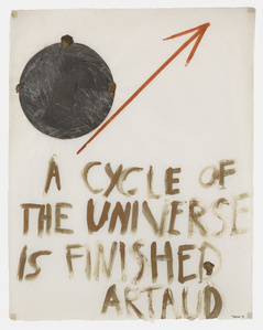 A Cycle of the Universe is Finished - Artaud