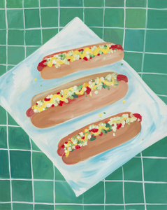 Hot-Dogs All Dressed
