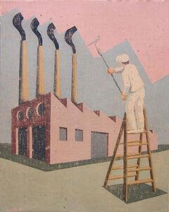 Optimistic painter