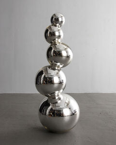 Stacked Orb Sculpture