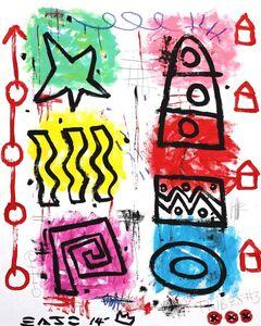 Star Tribes (framed)