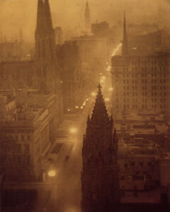 Fifth Avenue from St Regis, New York