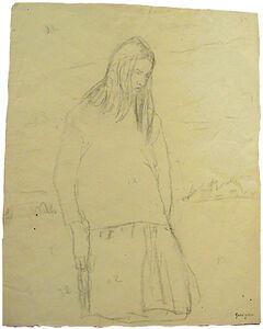 Standing Girl: Elisabeth de Willman Grabowska
