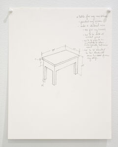 Untitled (a table for my new house...)