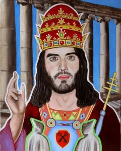 Tarot - Russell Brand as the Hierophant