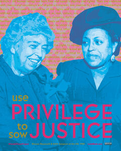 Use Privilege to Sow Justice