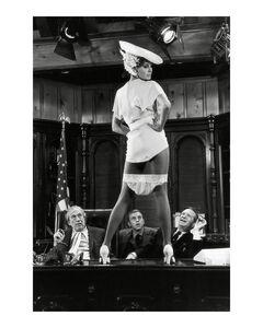 Raquel Welch on set of Myra Breckenridge, Los Angeles