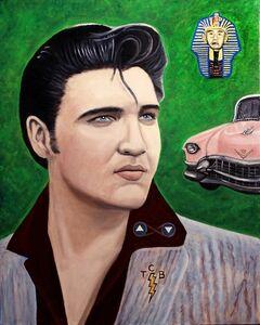 Tarot - Elvis as the Chariot