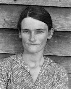 Cotton Tenant Farmer's Wife
