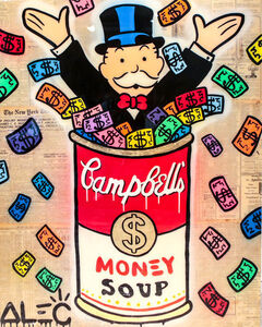 Monopoly Campbell's Soup - Colorful Money