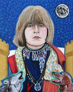 Tarot - Brain Jones as the Moon
