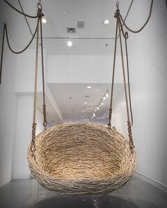 Custom Hanging Nest Sculpture