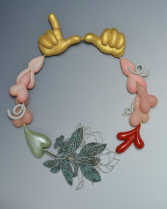 """Hagemann's Blossoms"" necklace"