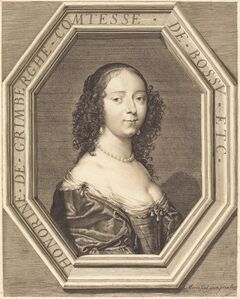 Honorine Grimberge, comtesse de Bossu