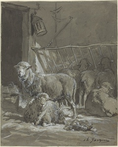 Sheep in a Manger