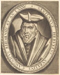 Gentien Hervet, Canon of Reims