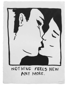 "Untitled (""Nothing feels new any more"")"