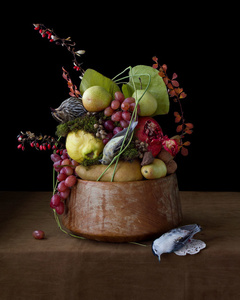 On Ripeness And Rot #16 (Fall Fruit)