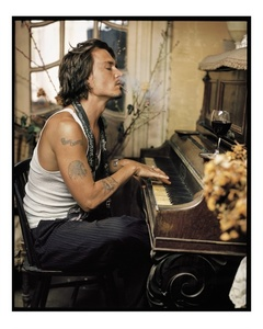 Johnny Depp, Madame Simon Residence, France
