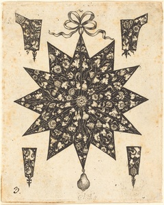 Star Embellished with Flowers