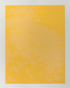 White on gold yellow