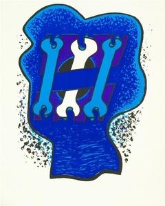 Key Head, Three Blues