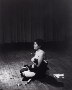 Cut Piece (1964) performed by Yoko Ono in New Works of Yoko Ono, Carnegie Recital Hall, New York, March 21, 1965