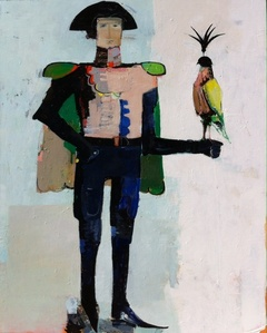Soldier with Bird