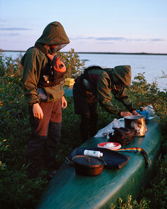 The Height of Land (Henry & Zach Cooking), Elson Lake, Nunavik, Canada