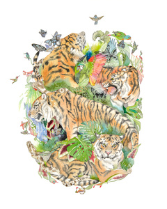 Tiger Mandala #1