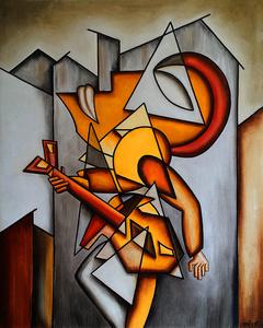 Le Guitariste des Villes